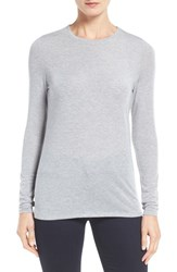 Eileen Fisher Women's Tencel Lyocell Blend Crewneck Sweater Dark Pearl
