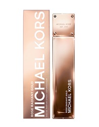 Michael Kors Gold Collection Rose Radiant Gold Eau De Parfum Spray 3.4 Oz No Color