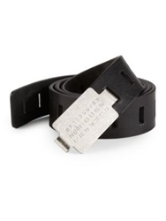 Maison Martin Margiela Leather Belt Tan Black