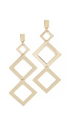 Adia Kibur Taylor Tier Earrings Gold