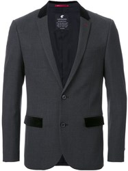 Loveless Fitted Dinner Jacket Grey