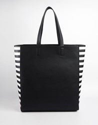 New Look Minimal Shopper Blackpattern
