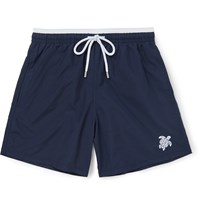 Vilebrequin Moka Mid Length Swim Shorts Blue