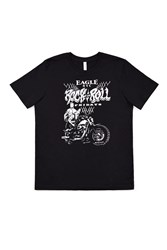 The Eagle Rock And Roll Friday T Shirt Black