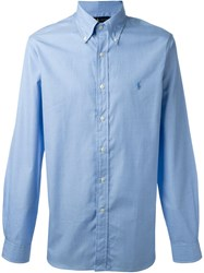 Ralph Lauren Button Down Collar Shirt Blue
