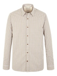 Racing Green George Multi Check Shirt Olive