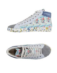 Springa Footwear High Tops And Trainers Men Light Grey