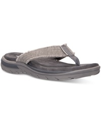 Skechers Men's Relaxed Fit Supreme Bosnia Sandals From Finish Line