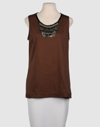 Dinou Sleeveless T Shirts Military Green