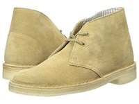 Clarks Desert Boot Oakwood Suede 2 Women's Lace Up Boots Tan