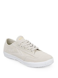 Feiyue Fe Lo Plain Suede Sneakers Bone White