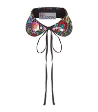 Red Valentino Embroidered Collar Female Multi