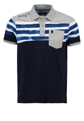 Desigual Polo Shirt Dunkelblau Dark Blue