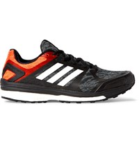 Adidas Sport Supernova Sequence 9 Rubber Trimmed Mesh Sneakers Black