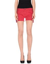 Franklin And Marshall Denim Denim Shorts Women Coral