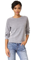 Monrow Dark Heather Sweatshirt