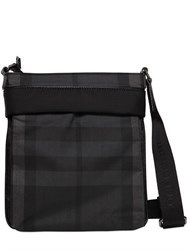 Burberry Brit Check Nylon Shoulder Bag