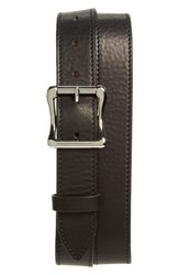 Men's Shinola Leather Belt Black