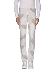 Officina 36 Trousers Casual Trousers Men White