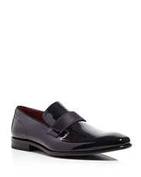 Boss Hugo Boss Huver Patent Leather Loafers Black