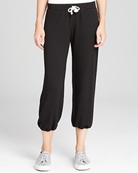 Nation Ltd. Nation Ltd Sweatpants Medora Capri Black