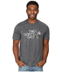 The North Face Short Sleeve Cobalt Flashdry Crew Heather Grey Men's Short Sleeve Pullover Gray
