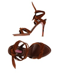 Blumarine Sandals Brown