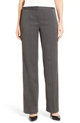 T Tahari Women's 'Prima' Herringbone Suit Pants