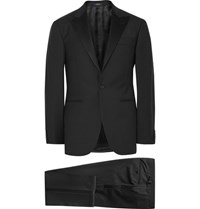Polo Ralph Lauren Black Fairbanks Slim Fit Wool Tuxedo Black