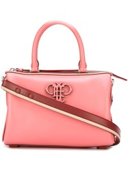Emilio Pucci Top Handle Tote Bag Pink And Purple