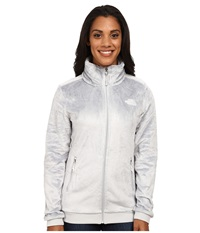 The North Face Mod Osito Jacket High Rise Grey High Rise Grey Women's Coat White