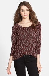 Kut From The Kloth 'Jayce' Scoop Neck Sweater Red Dahila