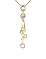 A Z Collection Gold Plated Drop Necklace