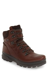 Men's Ecco 'Rugged Track Gtx' Hiking Boot Bison Mocha Leather