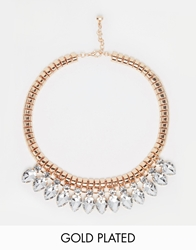 Ted Baker Pear Drop Necklace Clear