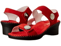 La Plume Abigail Red Women's Sandals