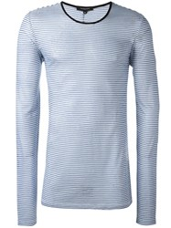 Unconditional Striped Long Sleeved Shirt Blue
