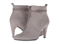 Ecco Shape 75 Sleek Ankle Boot Warm Grey Warm Grey Calf Nubuck Cow Nubuck Women's Dress Boots Gray