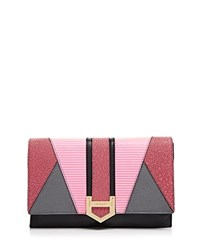 Milly Whitney Clutch Pink Multi
