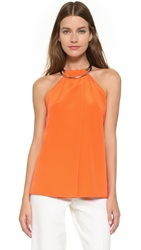Kaufman Franco Sleeveless Top Orange