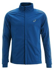 Asics Sports Jacket Poseidon Blue