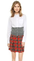 Marc By Marc Jacobs Miki Oxford Button Down White Multi
