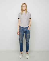Re Done Relaxed Crop Jean Blue