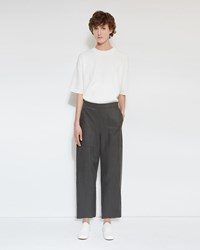 Christophe Lemaire Cropped Pants Peat