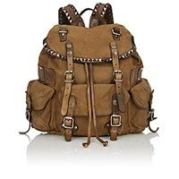Campomaggi Women's Studded Backpack Green
