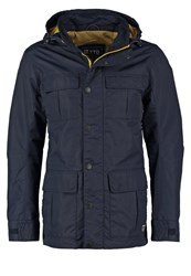 Tom Tailor Denim Outdoor Jacket Night Sky Blue Dark Blue