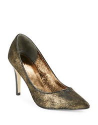 Adrianna Papell Adele Calf Hair Pumps Copper