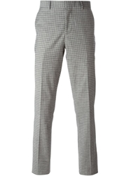 Paul Smith Gingham Check Trousers Grey