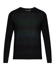 Bottega Veneta Degrade Cashmere Sweater Navy
