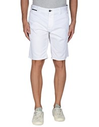 Armani Jeans Trousers Bermuda Shorts Men White